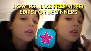 HOW TO MAKE FŔEE VIDEO EDITS WITH VIDEO STAR FOR BEGINNERS
