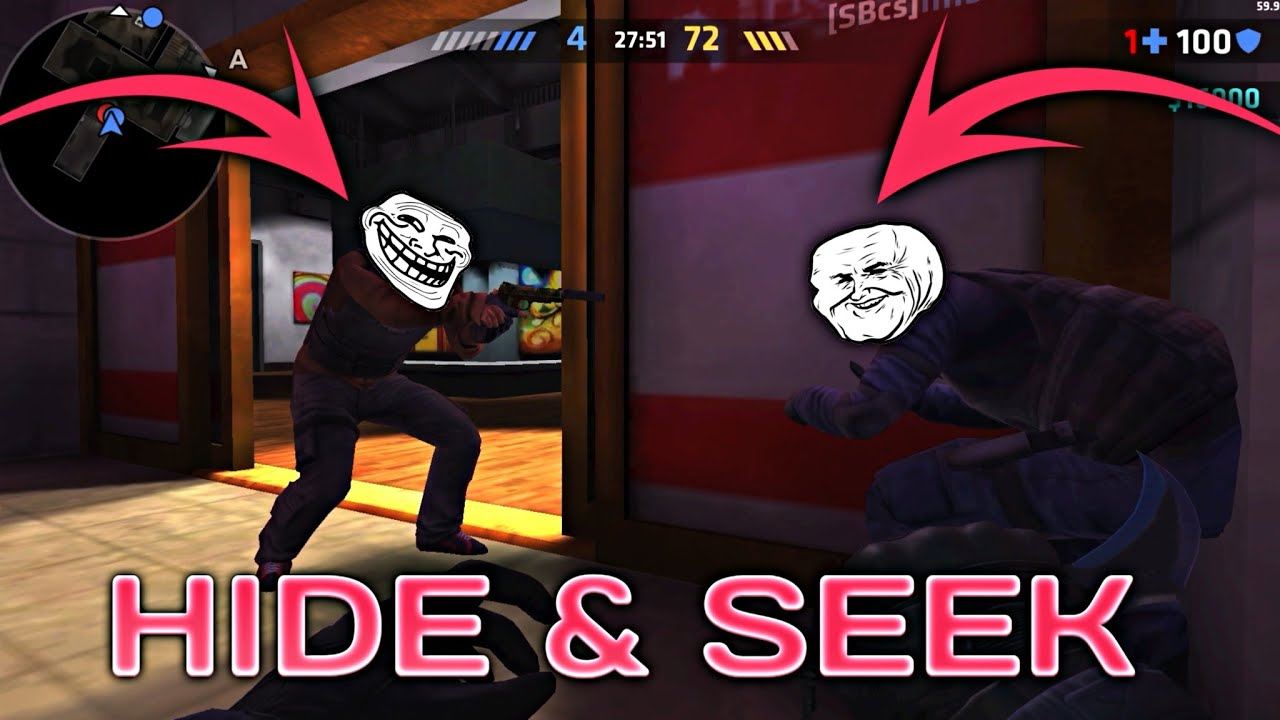 Critical Ops Hide and Seek ! (Best Moments)