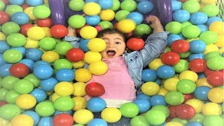 Funny Baby Family Fun Playtime Kids Play Area Indoor Playground for Children Baby Songs