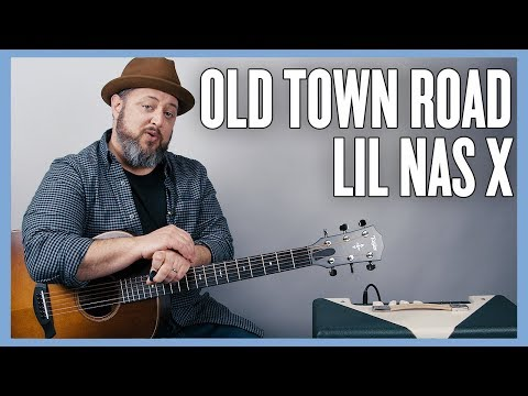 Lil Nas X - Old Town Road - Guitar Lesson