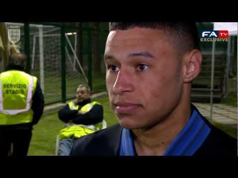 Alex Oxlade-Chamberlain post match interview, San Marino vs England
