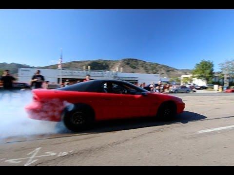Chevy Corvette and Camaro Burnouts Compilation