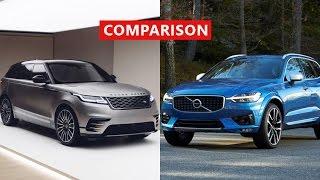 2017 Volvo XC60 vs 2018 Range Rover Velar Comparison - Interior, Exterior, TEST Drive