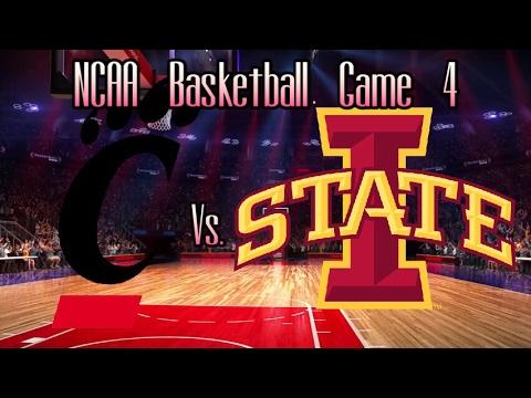NCAA Basketball 2022-23 Season Game 4: Cincinnati Bearcats vs. Iowa State Cyclones