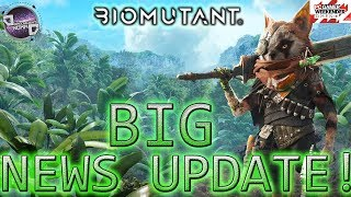 Biomutant   BIG NEWS UPDATE! Full Customizations/Open World Exploration/Mutations/and NPC's