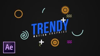 4 Trendy Motion Graphics Techniques in After Effects