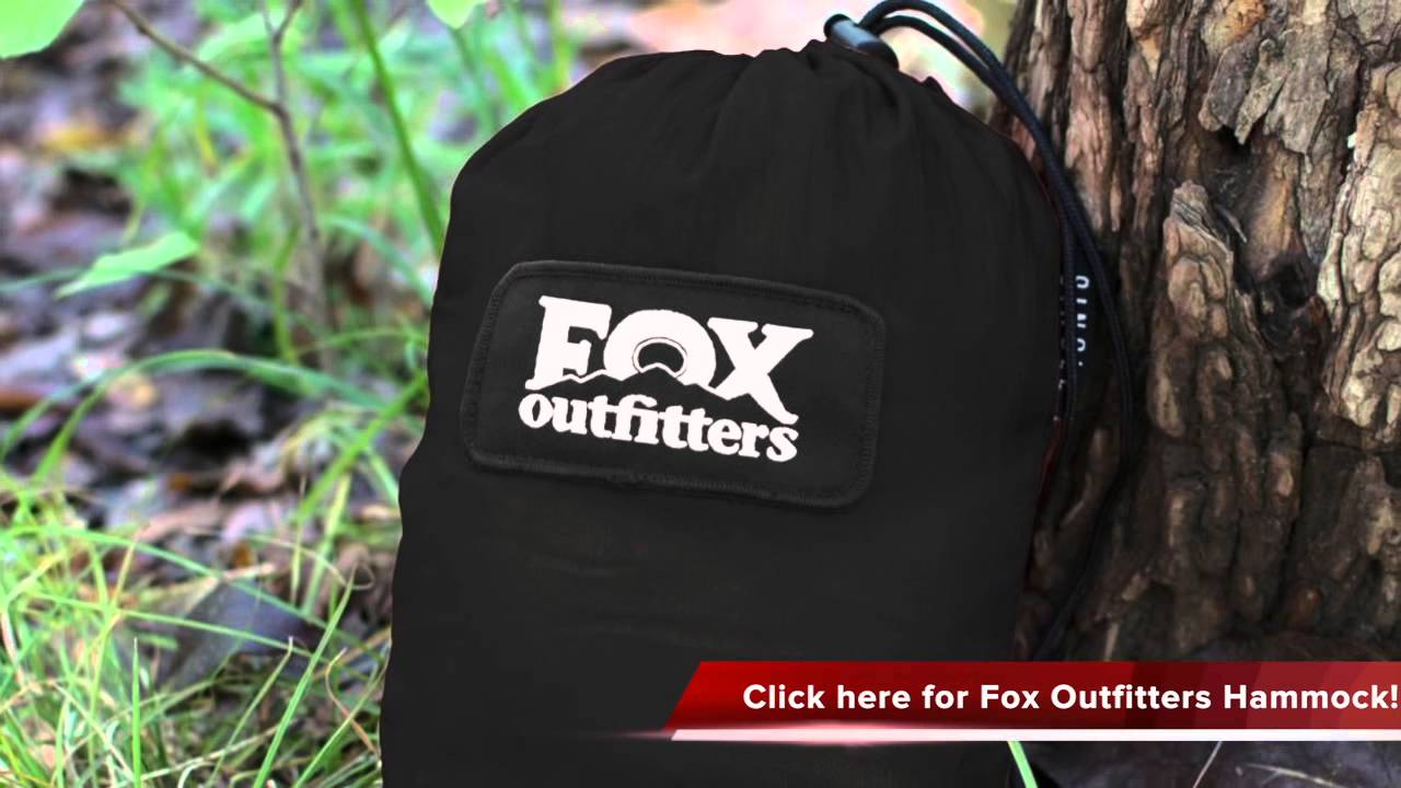 Fox Outfitters Neolite Double Hammock Review - YouTube