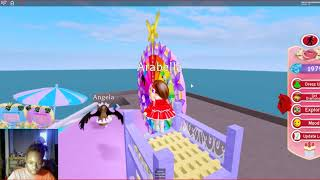 My first time in royal high- ROBLOX