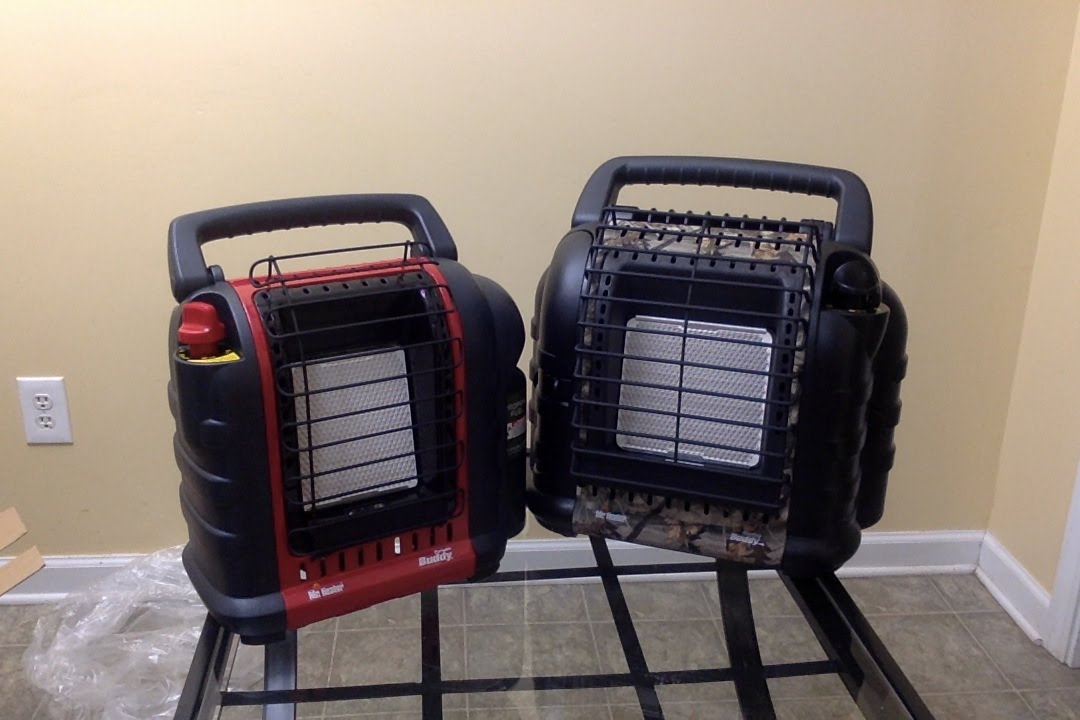 Mr Heater Portable Buddy Vs Hunting Buddy Compare And