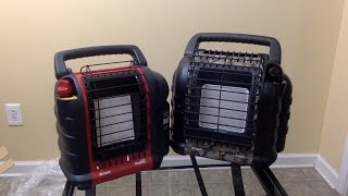 Mr. Heater Portable Buddy Vs Hunting Buddy Compare and Contrast