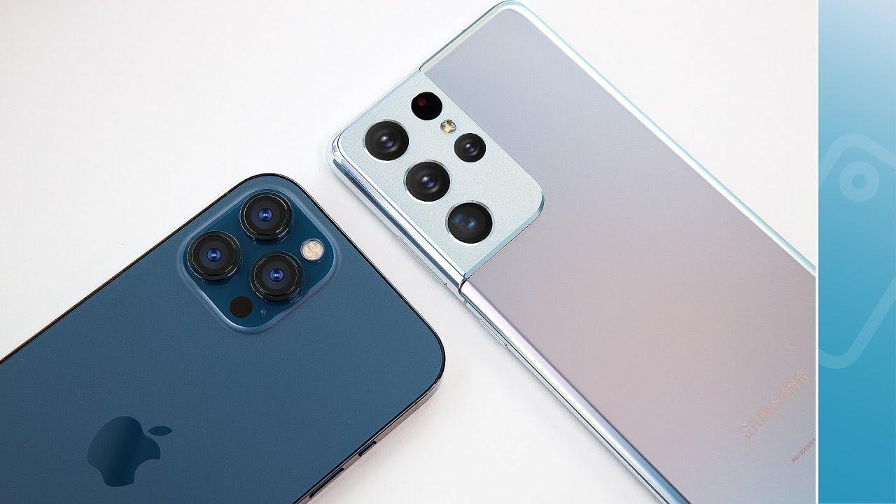 S21 Ultra có ăn được iPhone 12 Pro Max?!