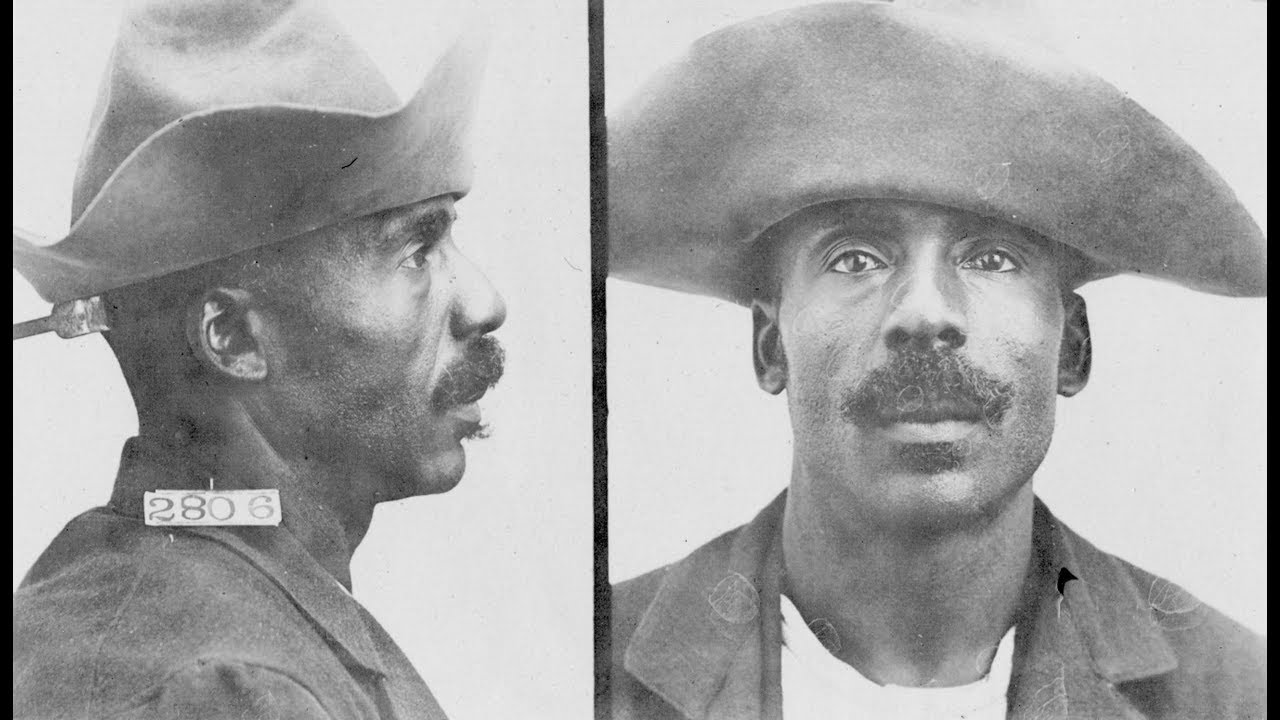 Vintage Mugshots of African American Inmates in Leavenworth Penitentiary  During the Early 1900's