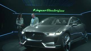 The Jaguar I Pace in virtual reality