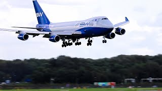 STORM B747 's on Rocking Approach to Schiphol times 15