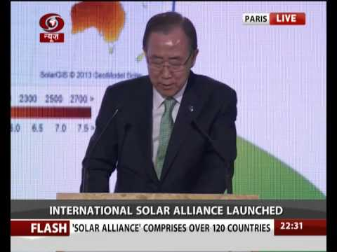International Solar Alliance launched
