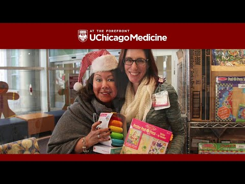 Happy holidays from Comer Children's Hospital!