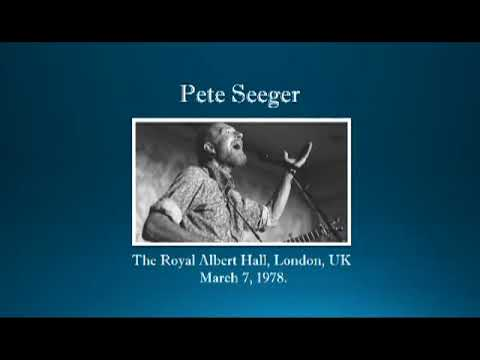 【TLRMC069】 Pete Seeger March 7, 1978