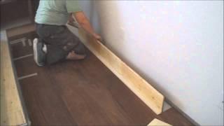 Floating Engineered Hardwood Floor Installation: The Last Raw