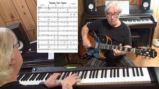 The Girl That I Marry - Jazz guitar & piano cover ( Irving Berlin )
