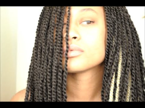 My Signature Twist Braids [Crochet Style] Final Results - YouTube
