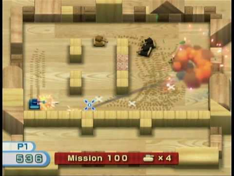 wii tanks mission 100 completed youtube rh youtube com Wii Play Fishing Play Wii Tannks