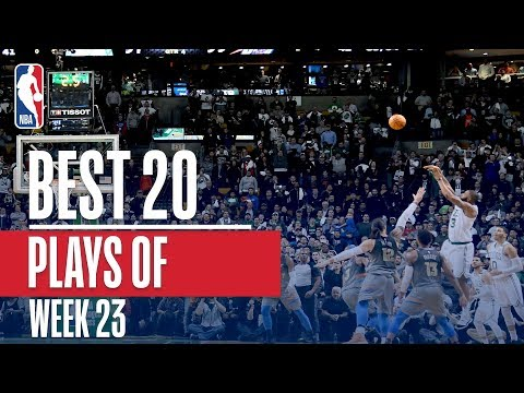 Best 20 Plays From Week 23 of the NBA Season (LeBron, Westbrook, Giannis, AD and More!)