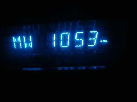? 1053 kHz - National Radio Libya 96.6 FM, Tripoli (Libya) - ??? presumed / tent.