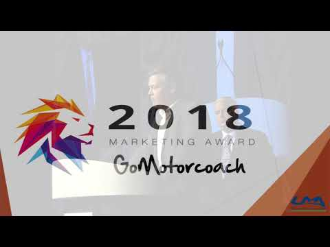The GoMotorcoach 2018 Marketer of the Year Award