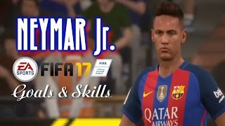 FIFA 17 Neymar Jr  Goals and Skills Compilation/Montage