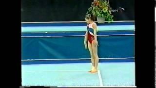 Elena KOKAREVA floor - 2005 Russian nationals EF