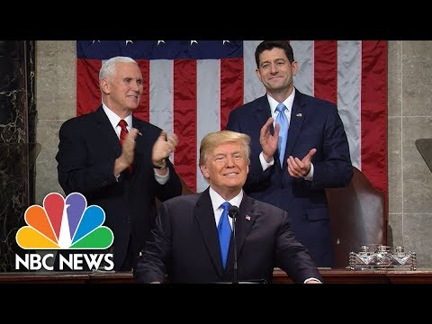 President Donald Trump's State Of The Union Address 2018 (Full) | NBC News