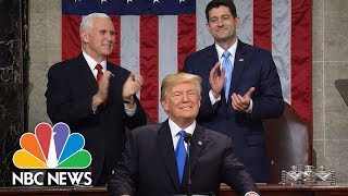 President Donald Trump's State Of The Union Address 2018 (Full) | NBC News thumbnail