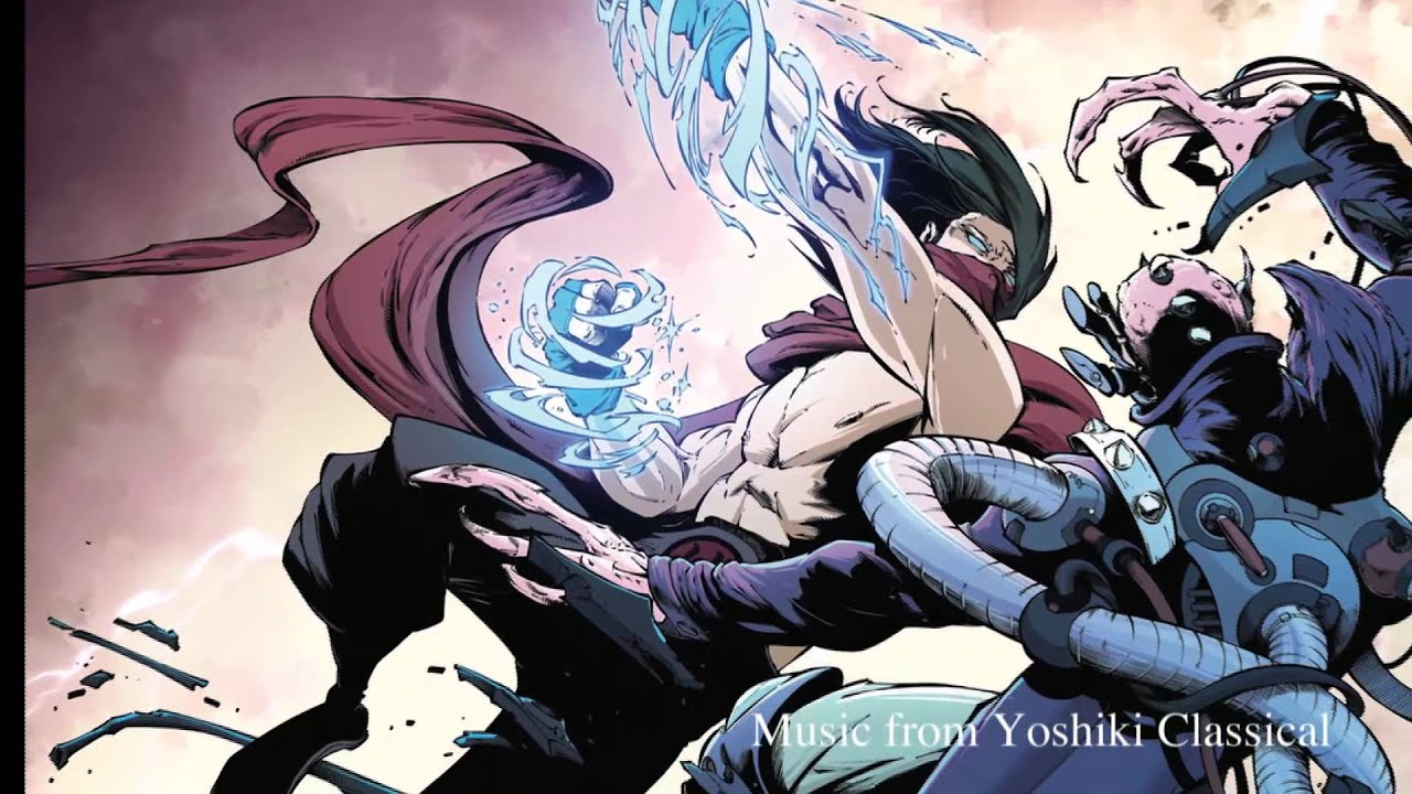 Blood Red Dragon (Music: Say Anything - Yoshiki Classical)