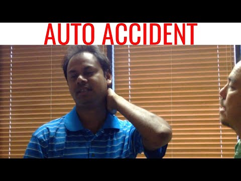 WHIPLASH treated with CHIROPRACTIC. Important AUTO ACCIDENT video.
