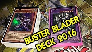 Yu-Gi-Oh! Buster Blader Deck Profile January 2016