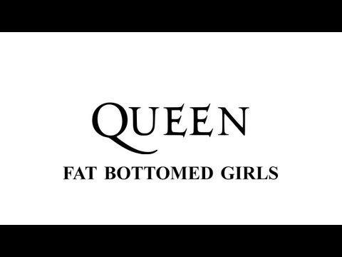 Queen  Fat bottomed girls  Remastered HD  with lyrics
