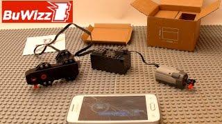 Review BuWizz - Unboxing - Tests avec moteurs - Comparaison avec LEGO Technic Power Fonctions