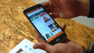 preview celular  LG K10 en español