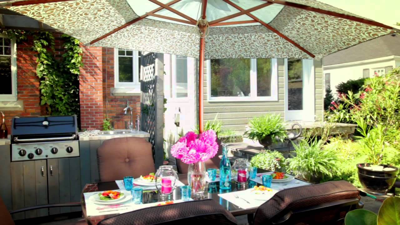rona by design patios and gardens 2012 youtube