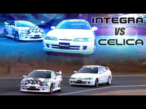 [ENG CC] FF Touge Battle - Spirits Integra Type R vs. C ...