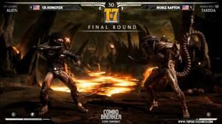 MKX - CB2016 -  SonicFox (Casie, Alien, Erron Black) Vs Raptor (Takeda)