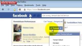 Bagaimana Menghapus atau Membatalkan Permintaan Pertemanan pada Facebook