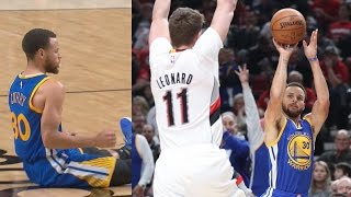 Kevin Durant Returns to Sweep the Blazers! Lillard Drops Green! Warriors Blazers Game 4