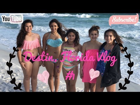 From Texas to Florida || Destin Florida Vlog #1