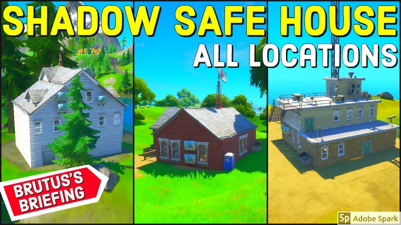 Find Shadow Safe Houses All Locations Brutus Briefing Challenges Week 2 Youtube