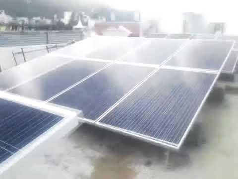 10 KWp solar power plant - 'Shiva Scans & Shiva Eye Hospital  -solar power subsidy tamilnadu