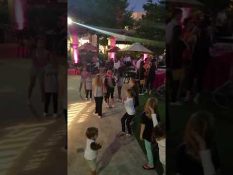 abbys kyf cheer party at la centerra