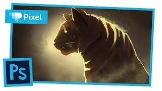 Рисуем кошку в Adobe Photoshop