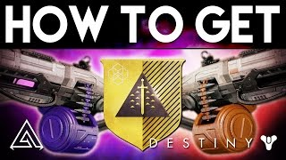 Destiny | How to Get the NEW Exotic Machine Guns Nova Mortis & Abbadon