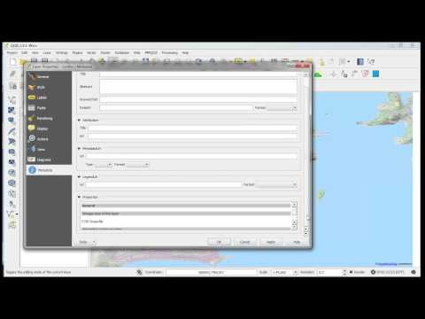 How to save QGIS layers to a GeoTiff image - YouTube